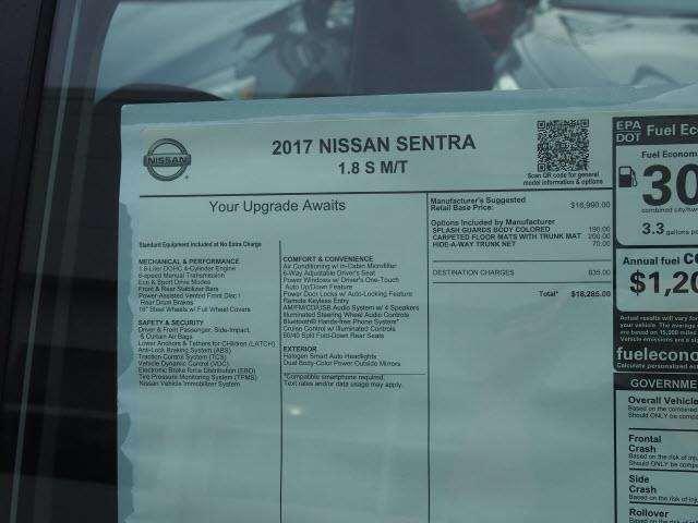 Nissan Sentra 2017 photo 4